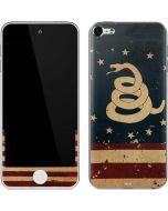 Dont Tread On Me American Flag Apple iPod Skin
