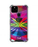Double Rainbow Google Pixel 5 Clear Case