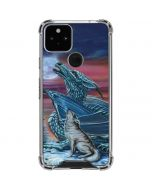 Dragon and the Wolf Google Pixel 5 Clear Case
