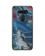Dragon and the Wolf LG K51/Q51 Clear Case