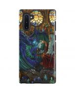 Dragon and Wizard Playing Chess Galaxy Note 10 Pro Case