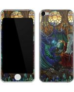 Dragon and Wizard Playing Chess Apple iPod Skin