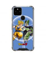 Dragon Ball Z Goku & Cell Google Pixel 5 Clear Case