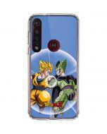 Dragon Ball Z Goku & Cell Moto G8 Plus Clear Case