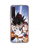 Dragon Ball Z Goku Blast Moto G8 Plus Clear Case