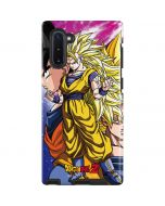 Dragon Ball Z Goku Forms Galaxy Note 10 Pro Case
