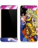 Dragon Ball Z Goku Forms iPhone 6/6s Plus Skin
