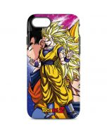 Dragon Ball Z Goku Forms iPhone 8 Pro Case