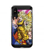 Dragon Ball Z Goku Forms iPhone XS Max Cargo Case
