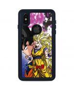 Dragon Ball Z Goku Forms iPhone XS Waterproof Case