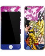 Dragon Ball Z Goku Forms Apple iPod Skin
