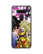 Dragon Ball Z Goku Forms LG K51/Q51 Clear Case