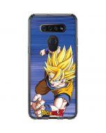Dragon Ball Z Goku LG K51/Q51 Clear Case