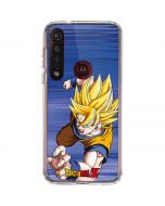 Dragon Ball Z Goku Moto G8 Plus Clear Case