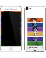 Dragon Ball Z Monochrome Apple iPod Skin