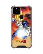 Dragon Ball Z Vegeta Google Pixel 5 Clear Case