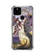 Dragon Charmer Fairy Google Pixel 5 Clear Case