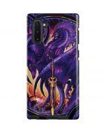 Dragonblade Netherblade Purple Galaxy Note 10 Pro Case
