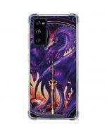 Dragonblade Netherblade Purple Galaxy S20 FE Clear Case