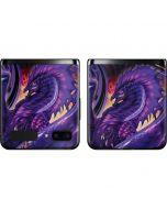 Dragonblade Netherblade Purple Galaxy Z Flip Skin