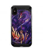 Dragonblade Netherblade Purple iPhone XS Max Cargo Case