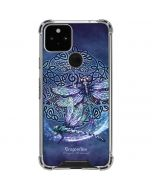 Dragonfly Celtic Knot Google Pixel 5 Clear Case