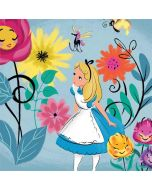 Alice Among The Flowers Apple iPad Skin