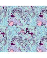 Alice in Wonderland Mushrooms iPhone 8 Pro Case