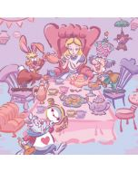 Alice in Wonderland Tea Party Yoga 910 2-in-1 14in Touch-Screen Skin
