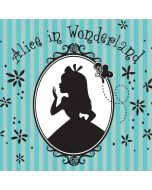 Alice in the Mirror iPhone X Waterproof Case