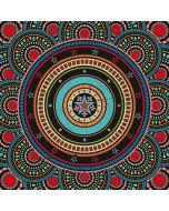 Infinite Circle Colored Amazon Echo Skin
