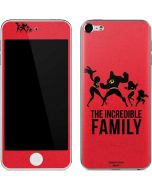 The Incredible Family Apple iPod Skin