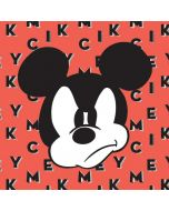 Mickey Mouse Grumpy iPhone X Skin