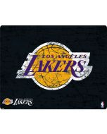 Los Angeles Lakers Black Primary Logo iPhone 6/6s Skin