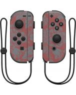 Dusty Cedar Floral Nintendo Joy-Con (L/R) Controller Skin