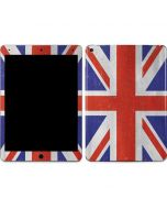 United Kingdom Flag Distressed Apple iPad Air Skin