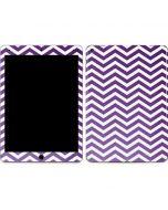 Purple Chevron Apple iPad Air Skin