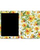 Yellow Hibiscus Apple iPad Air Skin