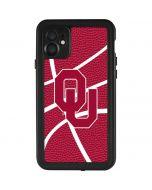 Oklahoma Sooners Basketball iPhone 11 Waterproof Case