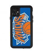 New York Knicks Large Logo iPhone 11 Waterproof Case
