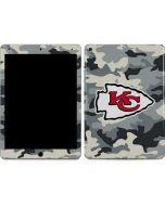 Kansas City Chiefs Camo Apple iPad Air Skin