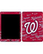 Washington Nationals - Cap Logo Blast Apple iPad Air Skin