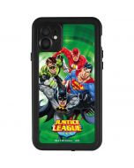 Justice League Team Power Up Green iPhone 11 Waterproof Case