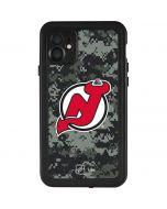 New Jersey Devils Camo iPhone 11 Waterproof Case