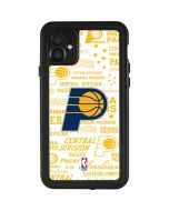 Indiana Pacers Historic Blast iPhone 11 Waterproof Case