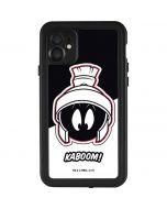 Retro Marvin The Martian iPhone 11 Waterproof Case