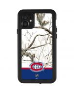 Realtree Camo Montreal Canadiens iPhone 11 Waterproof Case