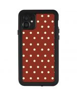 Neutral Polka Dots iPhone 11 Waterproof Case