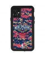 New Orleans Pelicans Digi Camo iPhone 11 Waterproof Case