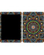 Finding Center Colored Apple iPad Air Skin